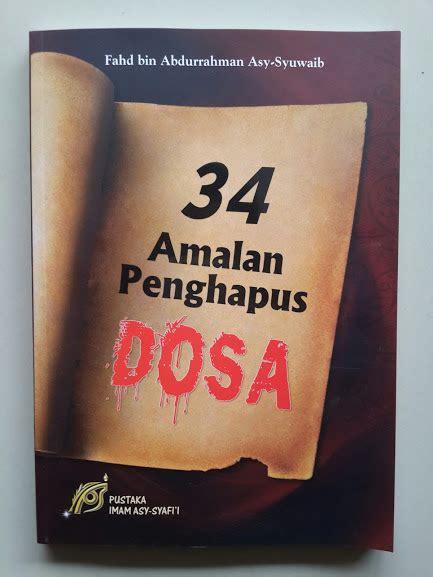 300 Dosa Yang Diremehkan Manusia Cover buku 34 amalan penghapus dosa toko muslim title