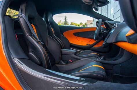 orange mclaren interior ventura orange mclaren 570s coup 233 by mso interior