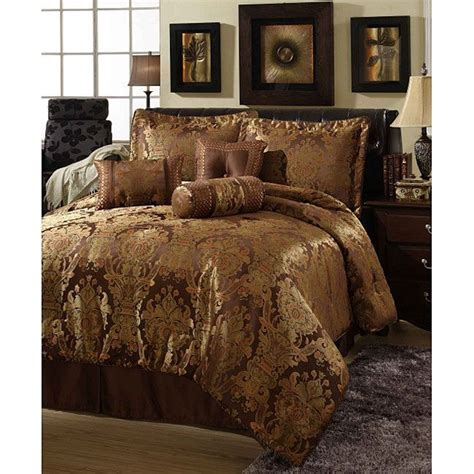 chocolate and burnt orange comforter set beautiful rich brown gold hue burnt orange comforter set