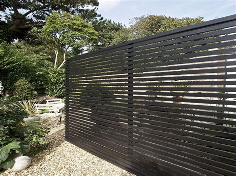 modern fence wooden fence panels horizontal www imgkid com the