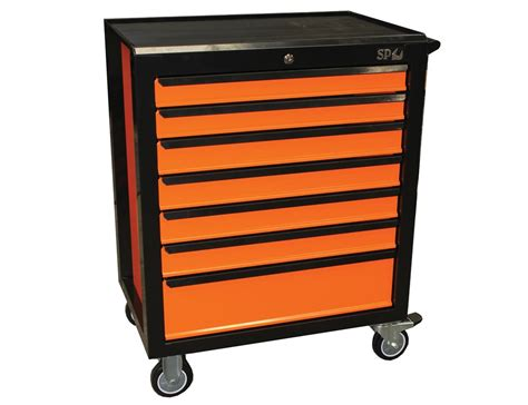 Purchase Drawers Buy 7 Drawer Concept Series Roller Cabinet Orange Black