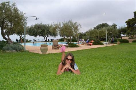 il giardino avola vista della piscina con giardino foto di avola antica