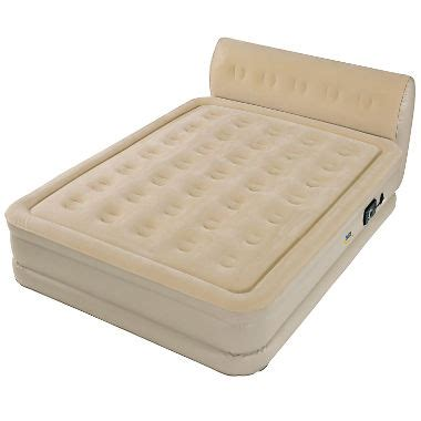perfect sleeper queen air bed  headboard sams