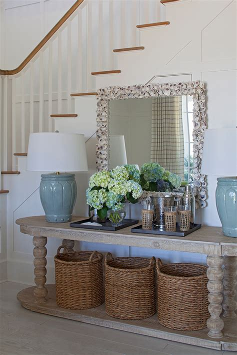 Ideas For Console Table With Baskets Design New And Fresh Interior Design Ideas For Your Home Home Bunch Interior Design Ideas