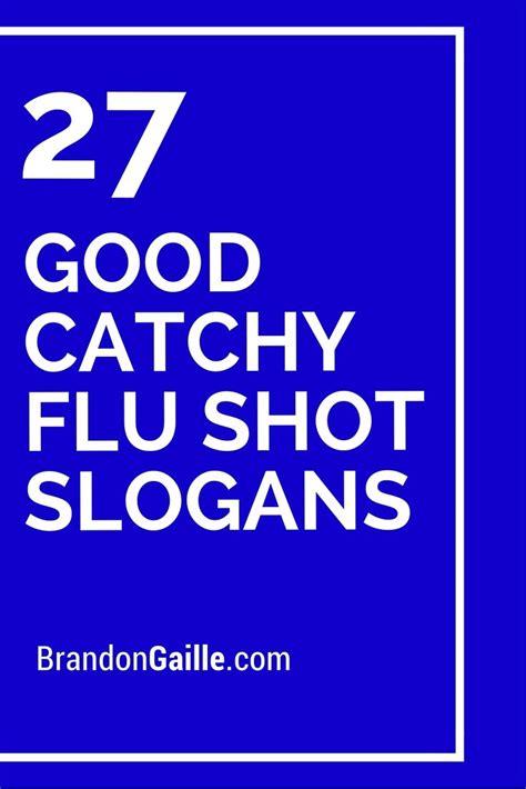 27 Good Catchy Flu Shot Slogans Flu Announcement Template