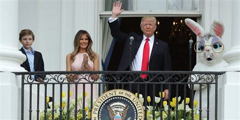 first white house easter egg roll photos the trumps hosted their first white house easter