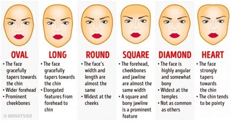 haircut match face shape how to choose the best haircut for your face shape
