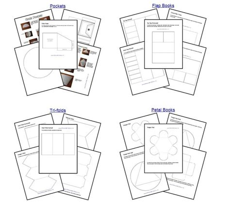 free interactive notebook templates pin by joyce chambers on cahier interactif interactive