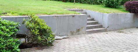 betonmauer streichen betonmauer garten innenarchitektur und m 246 bel inspiration