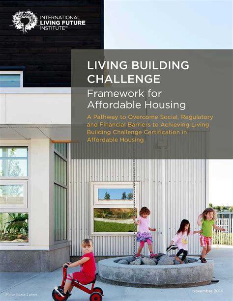 living building challenge australia affordable housing and lbc