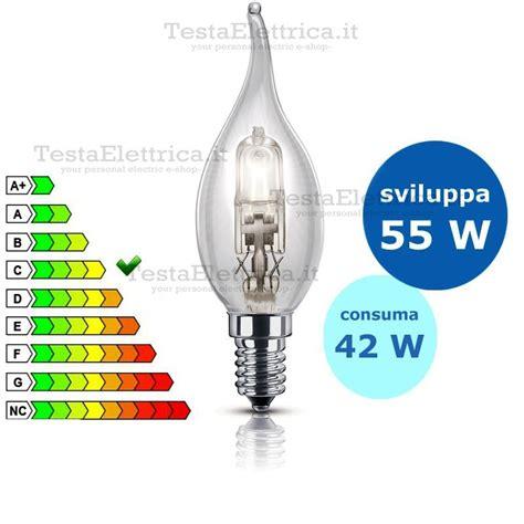 leuci illuminazione ladina fiamma halo gls alogena 42 watt e14 leuci