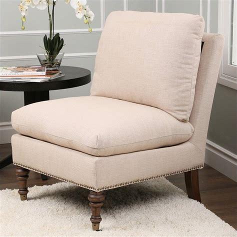 beige slipper chair abbyson living pedersen upholstered slipper chair
