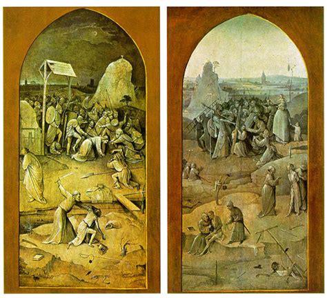 Garten Der Lüste Analyse by Hieronymus Bosch The Temptation Of Anthony Colourlex