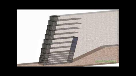 Feature Wall by Terramesh Gabion Retaining Wall Youtube