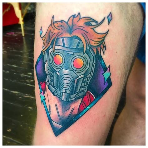 15 heroic guardians of the galaxy tattoos tattoodo