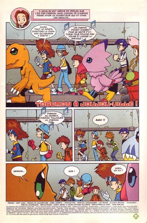 digimon comics bd informations cotes