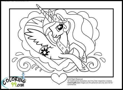 mlp princess cadence coloring pages coloring pages