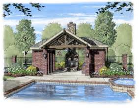 House Plans With Outdoor Living by 13 Pool Pavilion Designs Images Backyard Pool Pavilion
