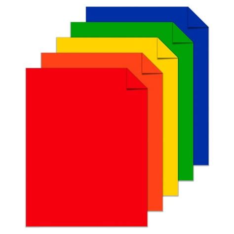 colored cardstock wausau 50ct 8 5x11 colored premium cardstock target