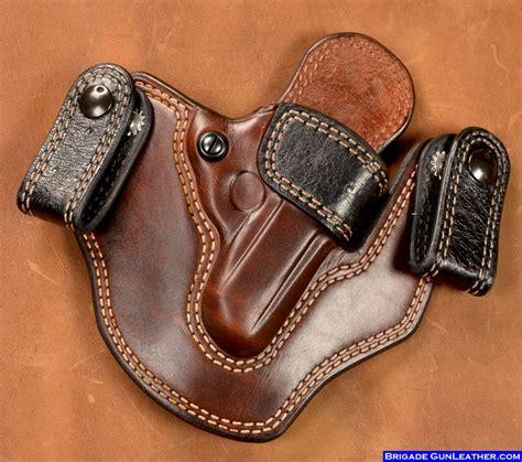 leather gun holster brigade exotic skin holsters shark holsters horsehide