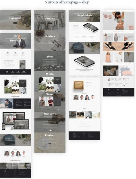 Teslathemes Montblanc Multi Purpose Creative Theme montblanc theme review teslathemes check this