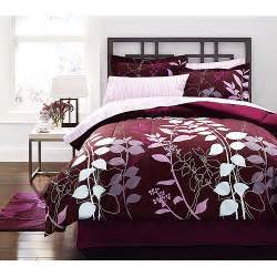 bedding sets hometrends orkaisi bed in a bag bedding set walmart