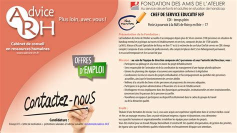 Cabinet Recrutement Rh by Advice Rh Recrutement