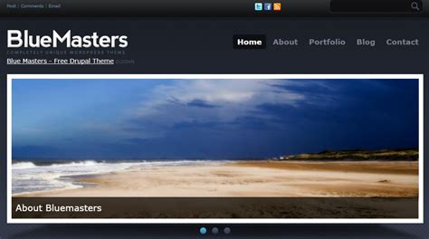 Drupal Themes Bluemasters | free drupal themes developers top picks vardot
