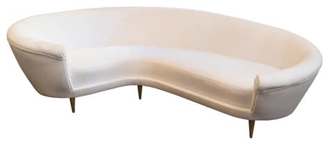 curved white sofa white curved sofa sofas by ecofirstart