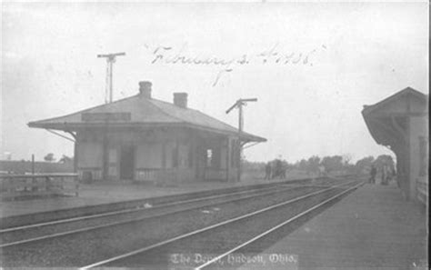 pennsylvania railroad depot hudson ohio stations