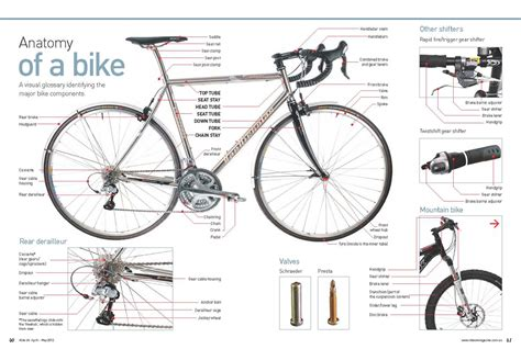 The Anatomy Of A Mountain Bike Cool Biking Zone | anatomy of a bike rideon