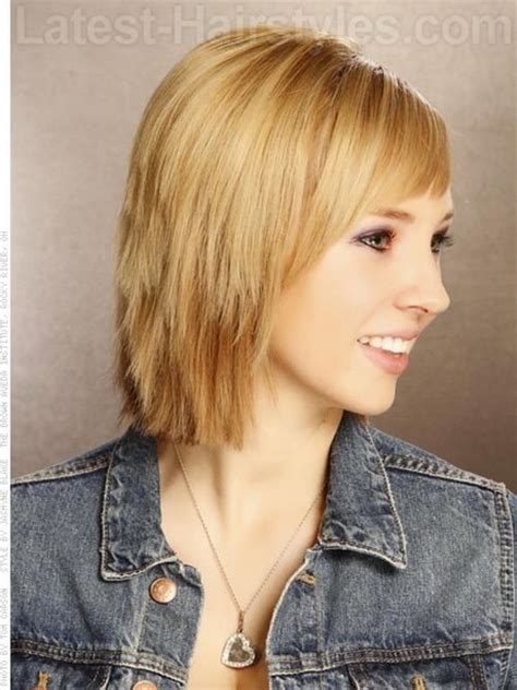 chunky layered hairstyles chunky layered haircuts