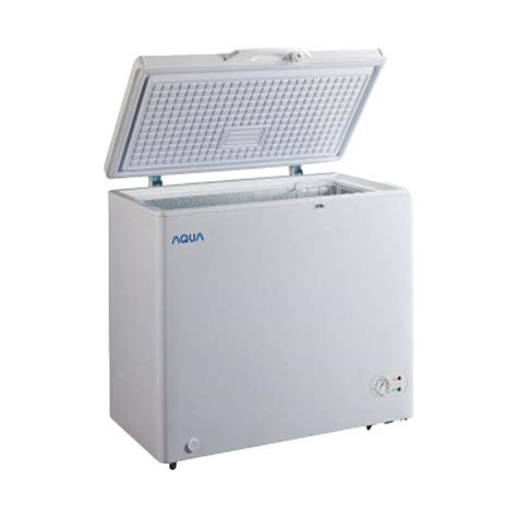 Aqua Chest Freezer Aqf 725 jual aqua japan aqf 160w chest freezer harga