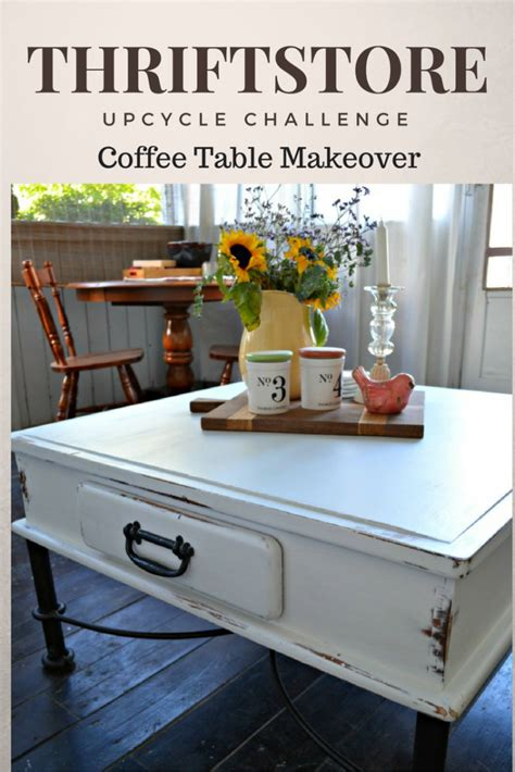 thrift store diy home decor thrift store decor upcycle coffee table makeover