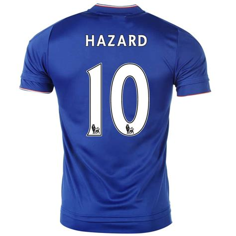 Chelsea Home Jersey 2015 2016 adidas chelsea fc hazard 10 home jersey 2015 2016 mens