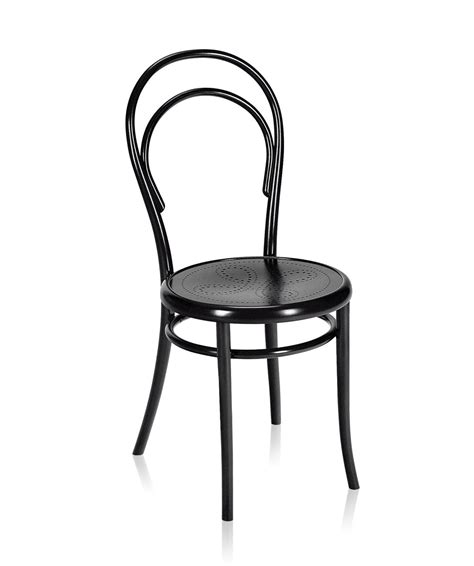 Sedia Thonet 14 by Gebruder Thonet Vienna N14 Perforated Seat Chair Deplain
