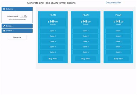 jquery themes builder download zeus pricing table jquery plugin with builder