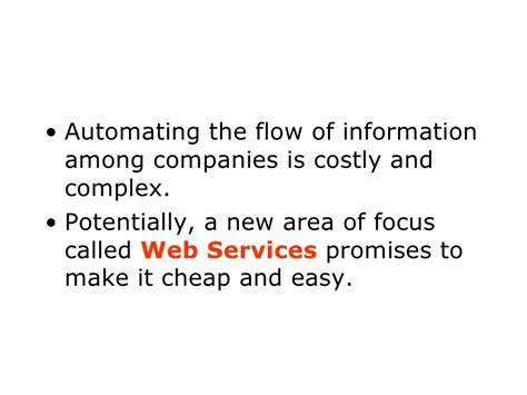 Mba Focus Areas Uf by Um Mba Program A Primer On Web Services