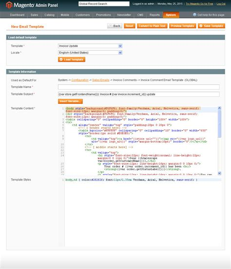 Magento Code Highlighter By Magentopros Codecanyon How To Create Custom Email Template In Magento