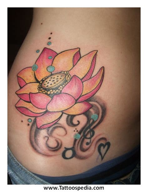 lotus tattoo guy flower tattoos