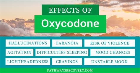 Percocet Detox Time by Relief At A Heavy Price The Effects Of Oxycodone