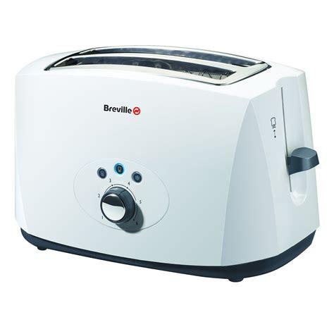 White Toaster Breville White 2 Slice Toaster Vtt178
