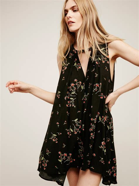 free people swing tree swing sleeveless printed top at free people clothing