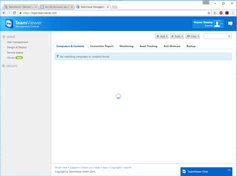 teamviewer console teamviewer management console hangs teamviewer community
