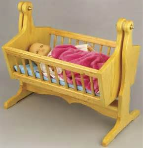 19 w3602 swinging doll cradle woodworking plan