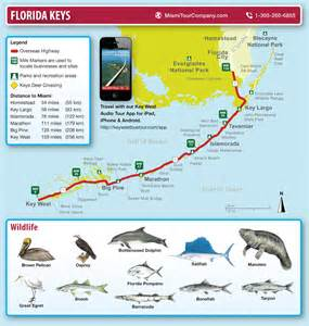 map of florida and key west miami tour company