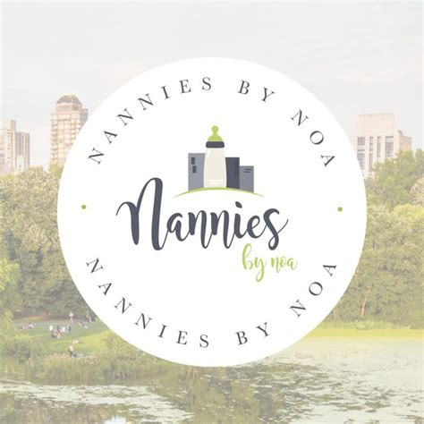 doodlebug nanny agency branding and web design for nannies by noa doodle