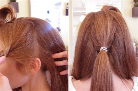 Vintage Bridal Hair Tutorial by Vintage Wedding Updo Hair Tutorial Popsugar