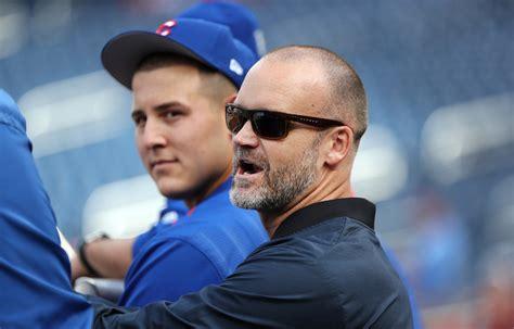 baseball bench coach duties david ross says hard to see him replacing dave martinez