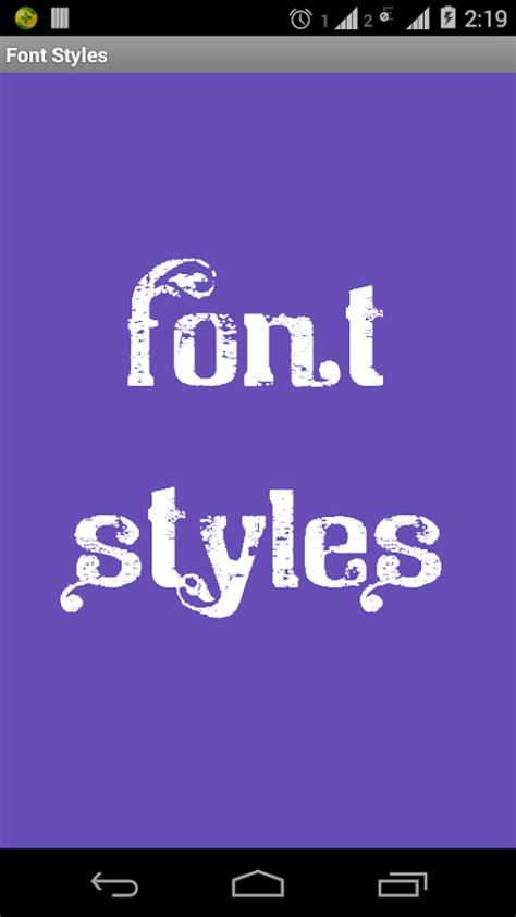 android font style apk font styles android apps on play